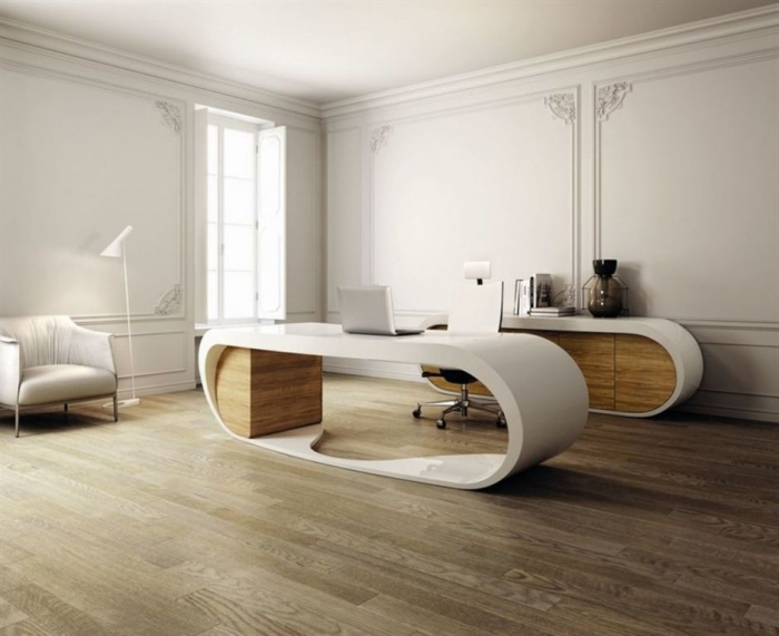 office-workspace-accessories-furniture-splendid-design-your-own-office-desk-with-style-double-office-desk-in-brown-white-color-on-combined-wonderful-brown-wood-floor-and-comfortable-white- How Can I Start My Own Business?