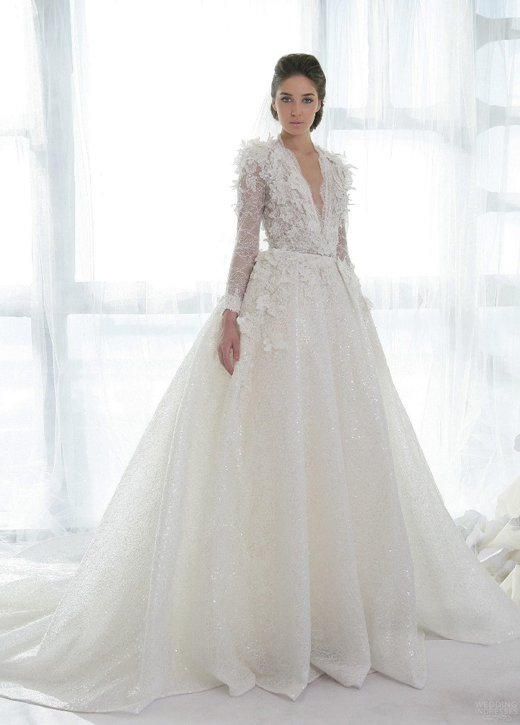 32-Awesome-Wedding-Dresses-for-Muslims-2015-18 30+ Awesome Wedding Dresses for Muslims 2021