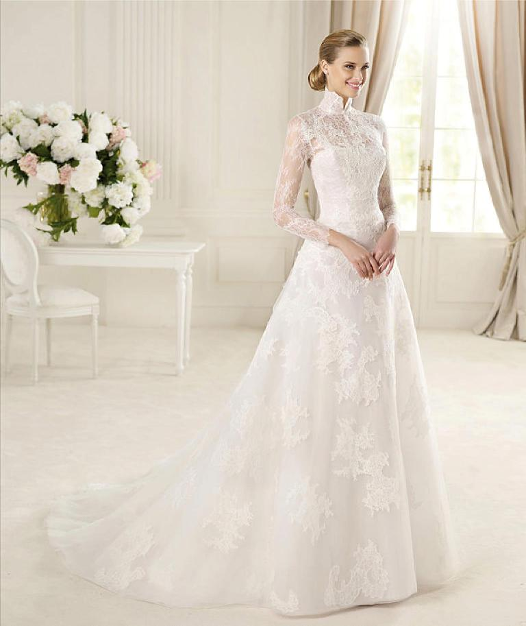 32-Awesome-Wedding-Dresses-for-Muslims-2015-3 30+ Awesome Wedding Dresses for Muslims 2020