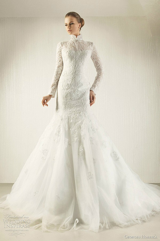 32-Awesome-Wedding-Dresses-for-Muslims-2015-5 30+ Awesome Wedding Dresses for Muslims 2021