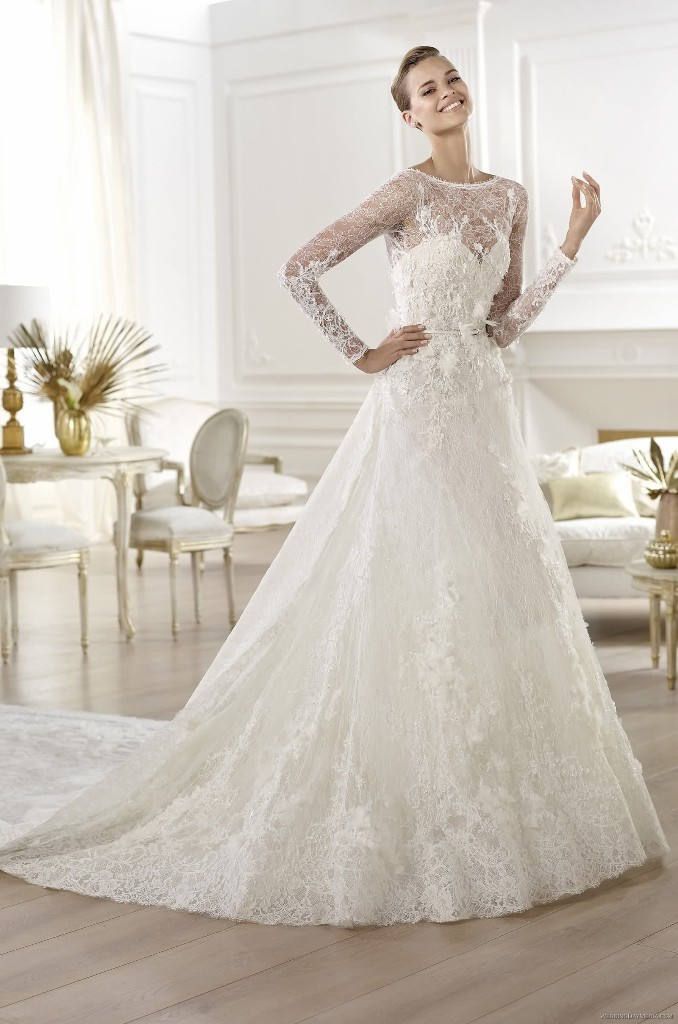 32-Awesome-Wedding-Dresses-for-Muslims-2015-6 30 Awesome Wedding Dresses for Muslims 2017