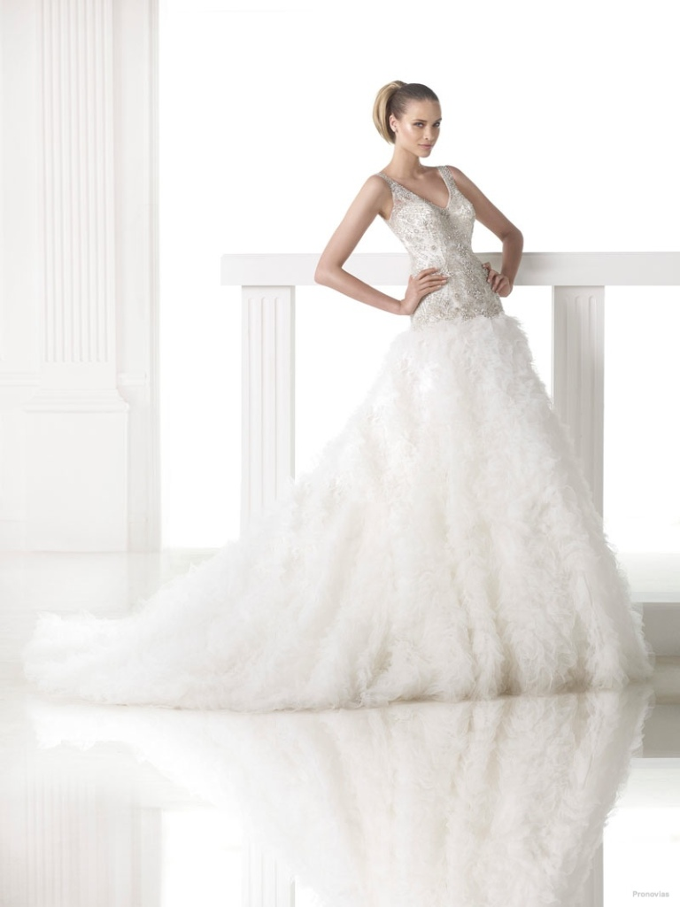 34-of-the-Best-Wedding-Dresses-in-2015-20 33+ of the Best Wedding Dresses in 2019