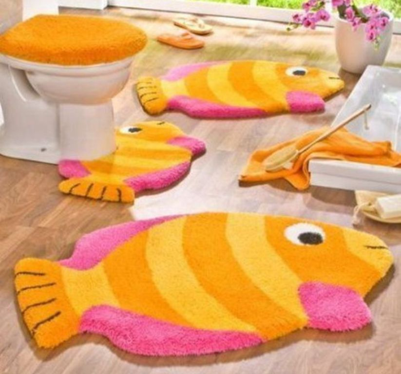 42-Awesome-Fabulous-Bathroom-Rugs-for-Kids-2015-33 41+ Awesome & Fabulous Bathroom Rugs for Kids 2019