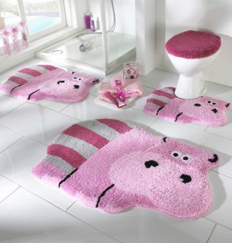 42-Awesome-Fabulous-Bathroom-Rugs-for-Kids-2015-41 41+ Awesome & Fabulous Bathroom Rugs for Kids 2019