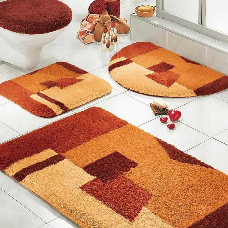 48-Fabulous-Magnificent-Bathroom-Rug-Designs-2015-1 47+ Fabulous & Magnificent Bathroom Rug Designs 2021