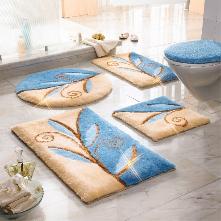 48-Fabulous-Magnificent-Bathroom-Rug-Designs-2015-10 47+ Fabulous & Magnificent Bathroom Rug Designs 2021