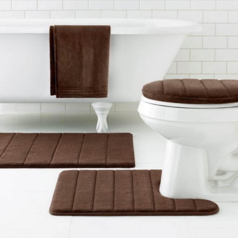 48-Fabulous-Magnificent-Bathroom-Rug-Designs-2015-17 47+ Fabulous & Magnificent Bathroom Rug Designs 2021