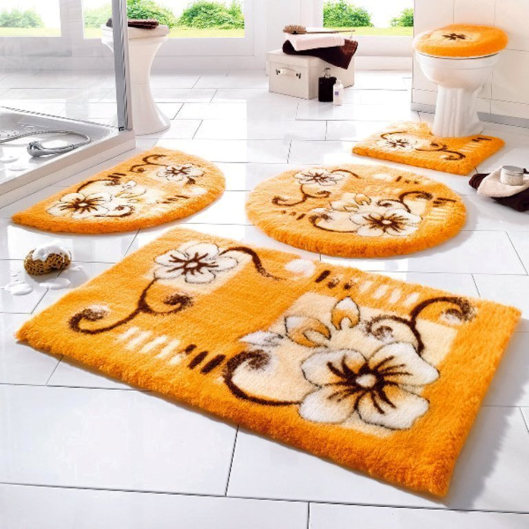 48-Fabulous-Magnificent-Bathroom-Rug-Designs-2015-27 47+ Fabulous & Magnificent Bathroom Rug Designs 2021