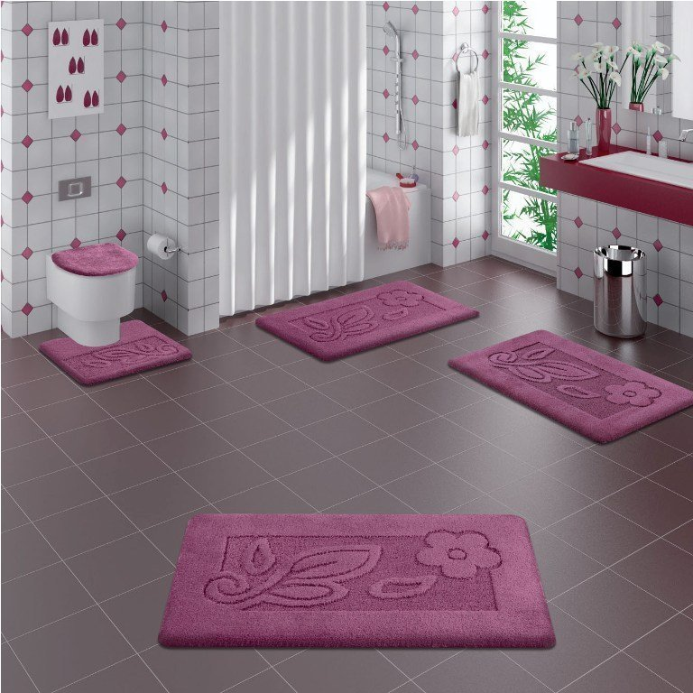 47 Fabulous & Magnificent Bathroom Rug Designs 2015