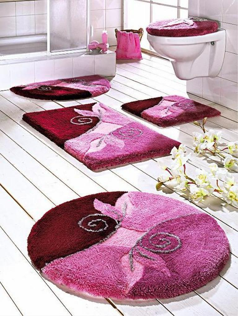48-Fabulous-Magnificent-Bathroom-Rug-Designs-2015-6 47+ Fabulous & Magnificent Bathroom Rug Designs 2021