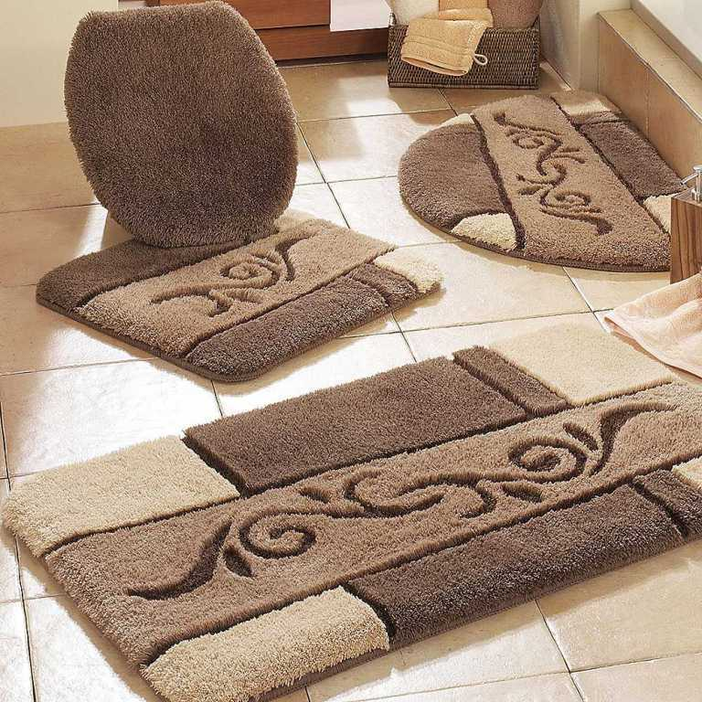 48-Fabulous-Magnificent-Bathroom-Rug-Designs-2015 47+ Fabulous & Magnificent Bathroom Rug Designs 2021