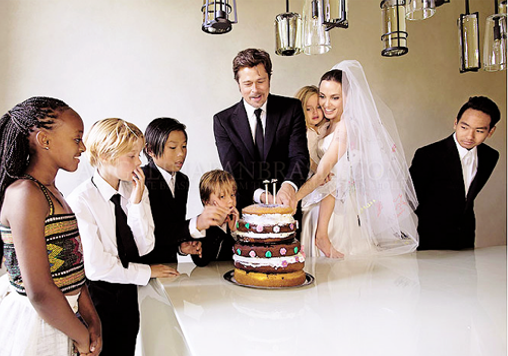 Anglina-and-Brad Top 10 Celebrity Weddings of 2014