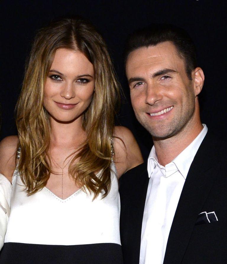 Behati-Prinsloo-and-Adam-Levine Top 10 Celebrity Weddings of 2014