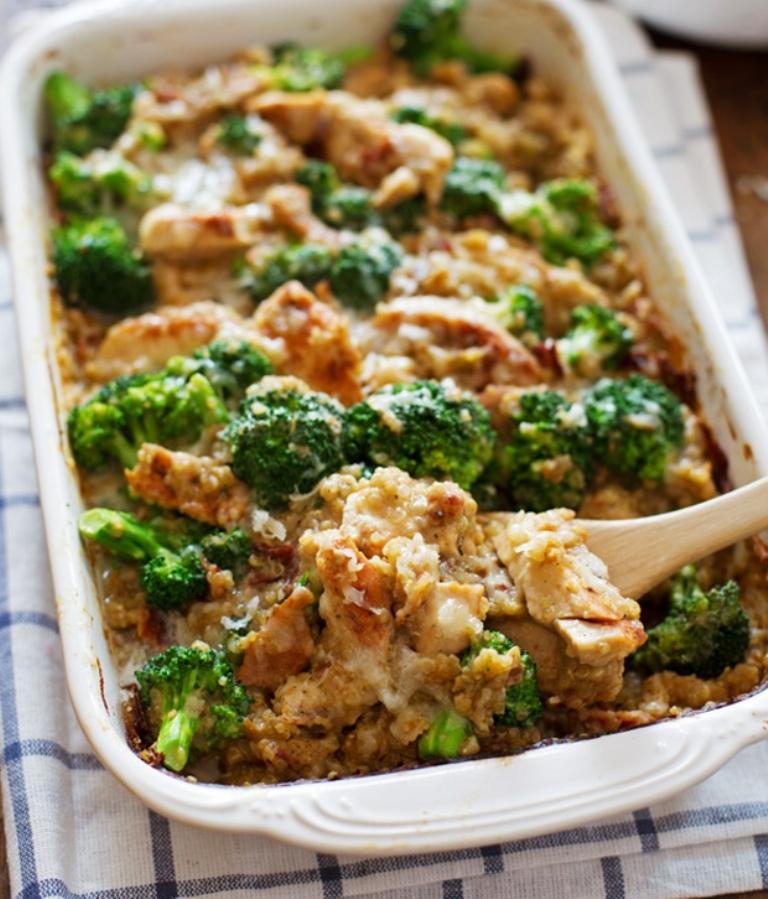 Creamy-Chicken-Quinoa-Broccoli-Casserole 10 Most Delicious & Mouth-Watering Chicken Breast Recipes