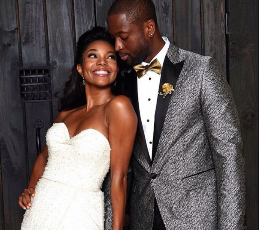 Gabrielle-Union-and-Dwayne-Wade2 Top 10 Celebrity Weddings of 2014
