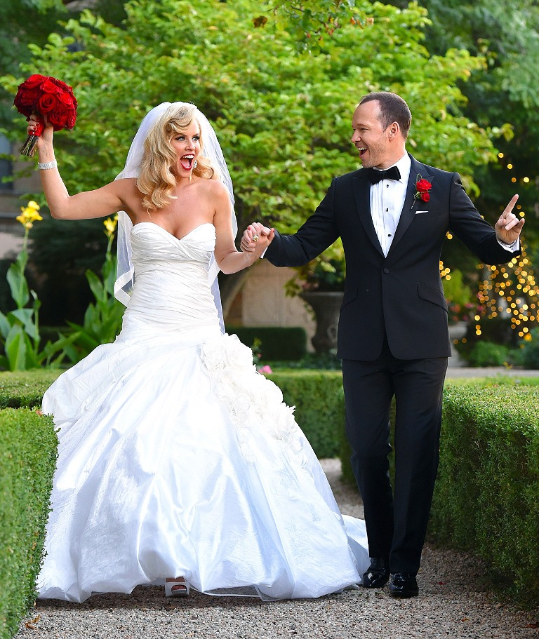 Jenny-McCarthy-and-Donnie-Wahlberg Top 10 Celebrity Weddings of 2014