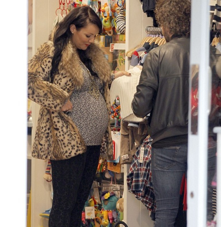 Martine-McCutcheon. Top 10 Celebrity Pregnancies in 2015