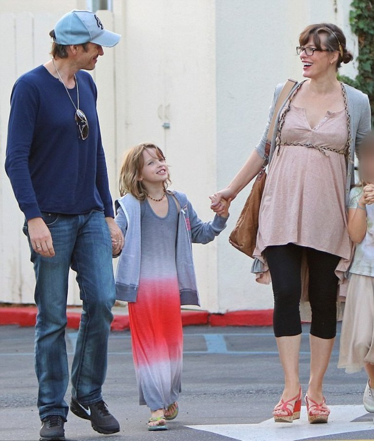 Milla-Jovovich. Top 10 Celebrity Pregnancies in 2015