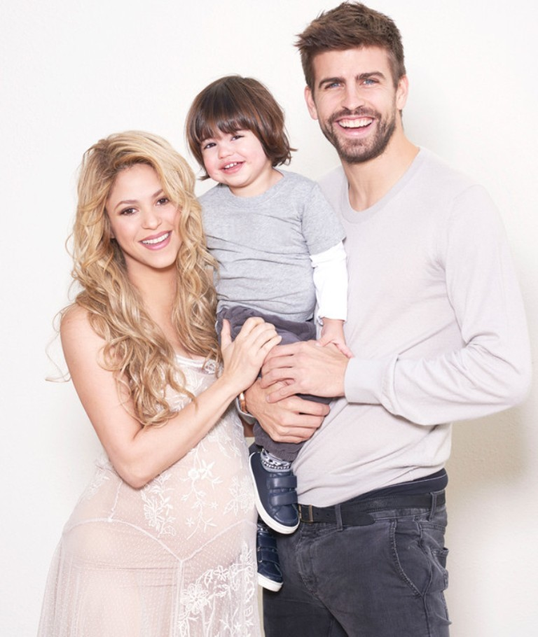 Sasha-Piqué-Mebarak Top 10 Celebrity Pregnancies in 2015