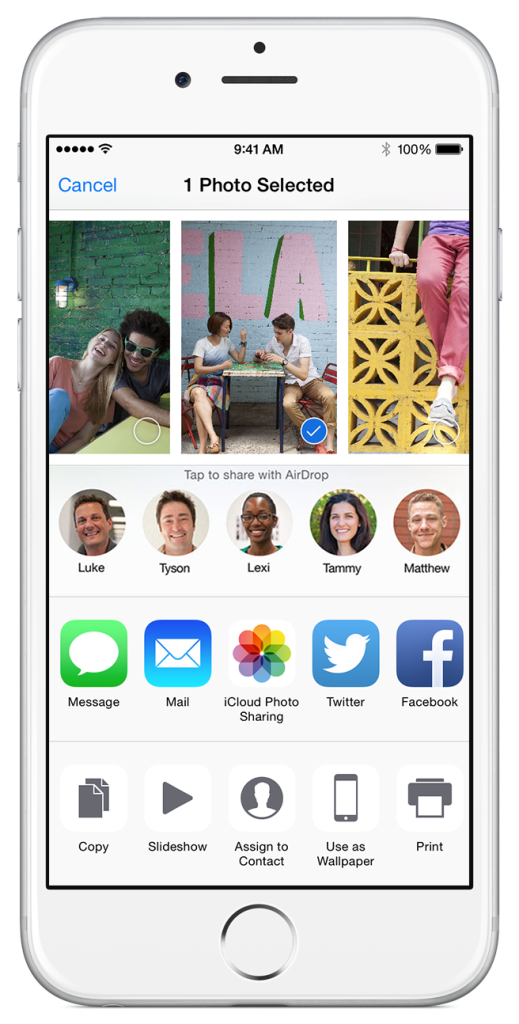 ios8_share_moments Do You Know How to Use AirDrop?