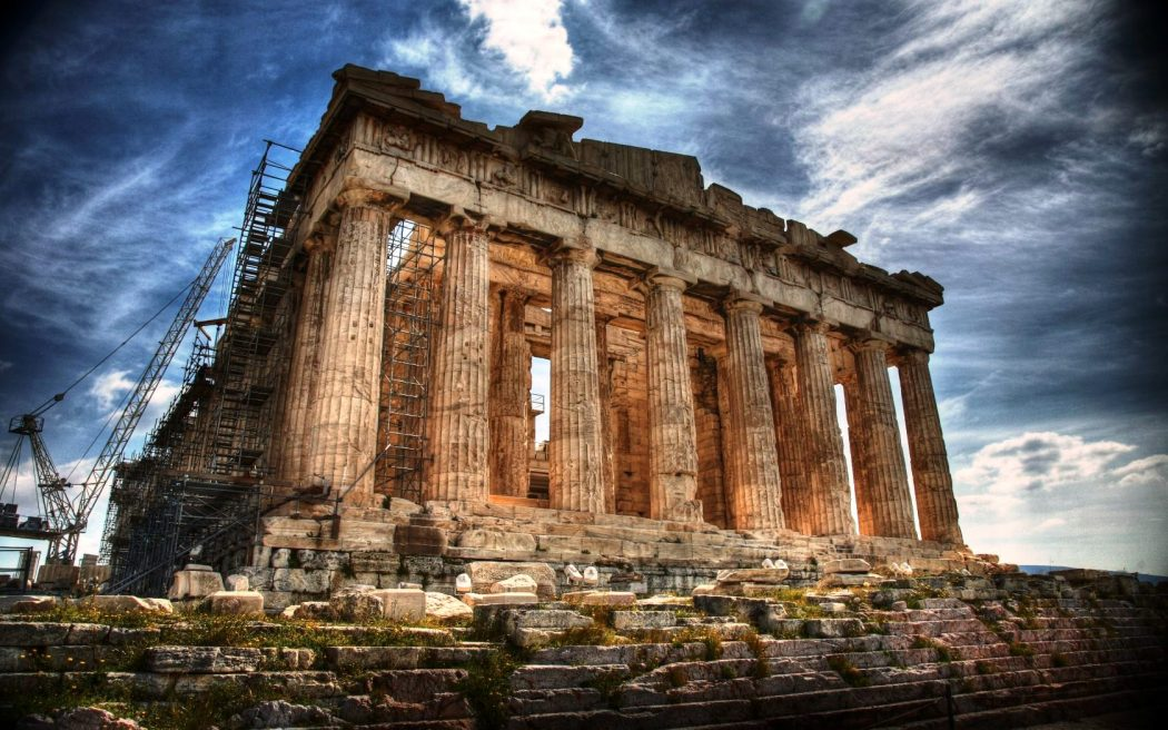 Athens-Parthenon-Ruins-Partenon-Tour Top 10 Most Ancient Cities Found in The World