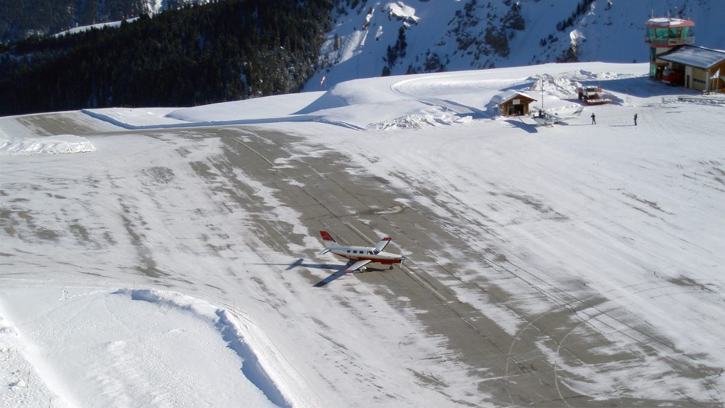 Courchevel-Airport Top 10 Weirdest Airport in The World