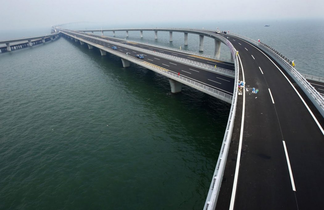 Danyang–Kunshan-Weinan-Weihe-Grand-Bridge Top 10 Biggest Bridges in USA