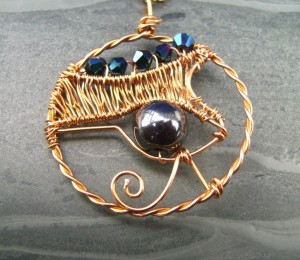 Eye-of-Horus-Gold-Crystal-Hematite-Amulet-Pendant-Necklace-Spiral-Fountain-Jewellery-300x260 Legends Of Ancients And The Power Of Gemstones In Preventing Envy