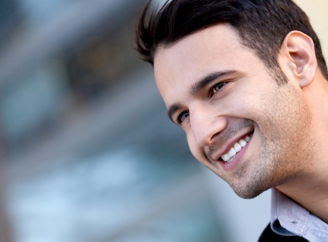 Smiling-Man-1 Smart Ways to Pretend You're Listening to Your Girlfriend