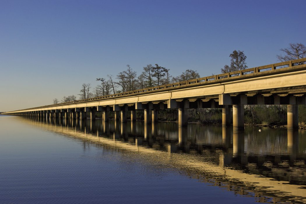 The_I-10_running_west_of_New_Orleans Top 10 Biggest Bridges in USA