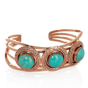chaco-canyon-sw-3-stone-turquoise-copper-cuff-bracelet-d-20120613104604553181073-300x300 Legends Of Ancients And The Power Of Gemstones In Preventing Envy