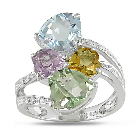 long-Miadora-10k-White-Gold-Gemstone-and-1-10ct-TDW-Diamond-Ring-I-J-I1-I2-1-475x475 7 Ways to Select Rings For Long, Skinny, And Short Fingers