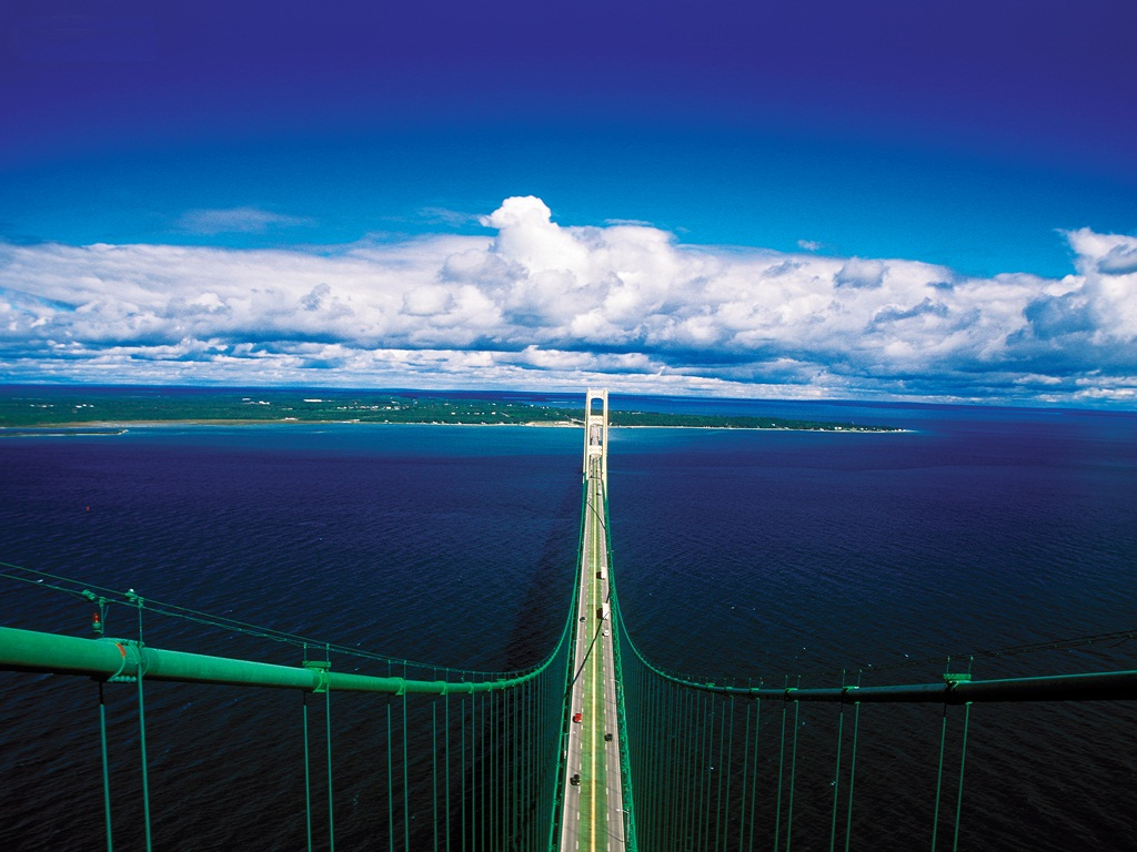 mackinac-bridge3 Top 10 Biggest Bridges in USA