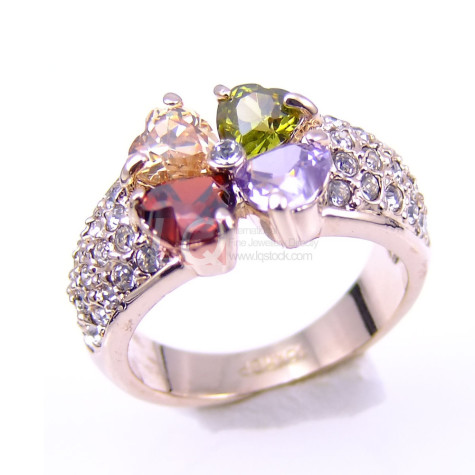 short-LQ-Fine-Jewelry-City-Style-Fashion-font-b-Ring-b-font-Lucky-Clover-Austrian-Crystal-Heart-475x475 7 Ways to Select Rings For Long, Skinny, And Short Fingers