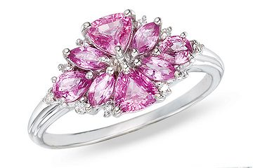short-RCP_015661_b_l-2_Carat_Pink_Sapphire_and_Diamond_14K_White_Gold_Ring 7 Ways to Select Rings For Long, Skinny, And Short Fingers