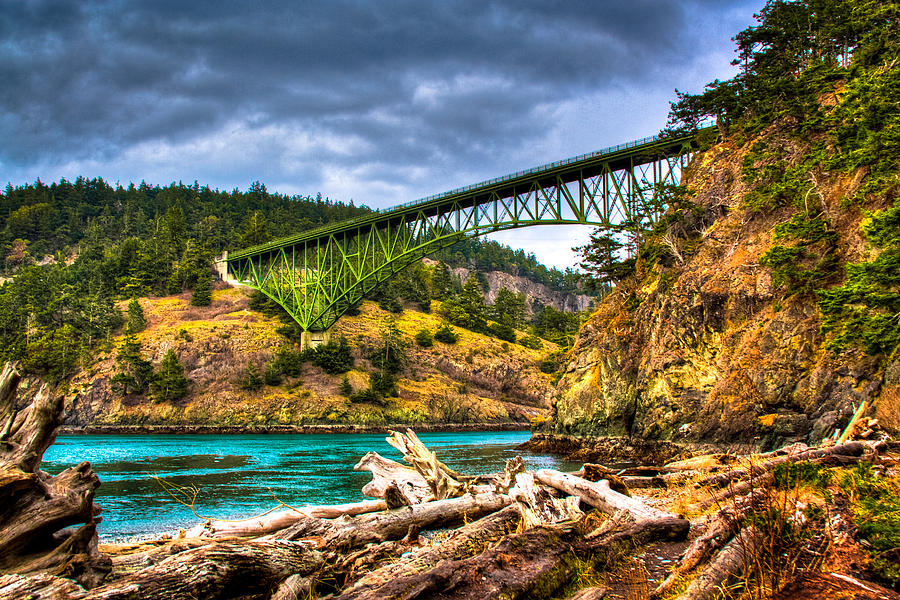 the-deception-pass-bridge-ii-david-patterson Top 10 Biggest Bridges in USA