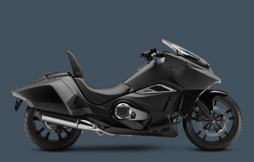 2016_NM4-MatteBlackMetallic Best 25 Motorcycle Models Released by Honda