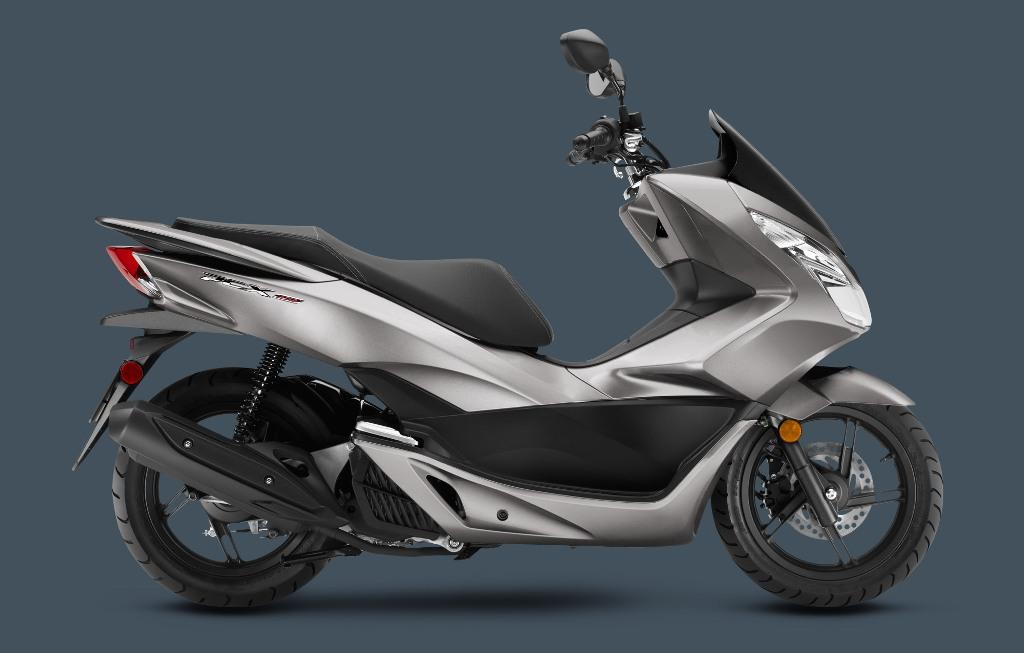 2016_PCX-SteelGray Best 25 Motorcycle Models Released by Honda