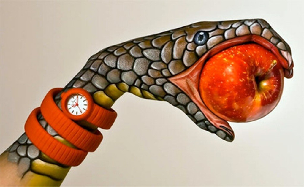 3D-Body-Paintings-11 58 Most Marvelous 3D Body Paintings