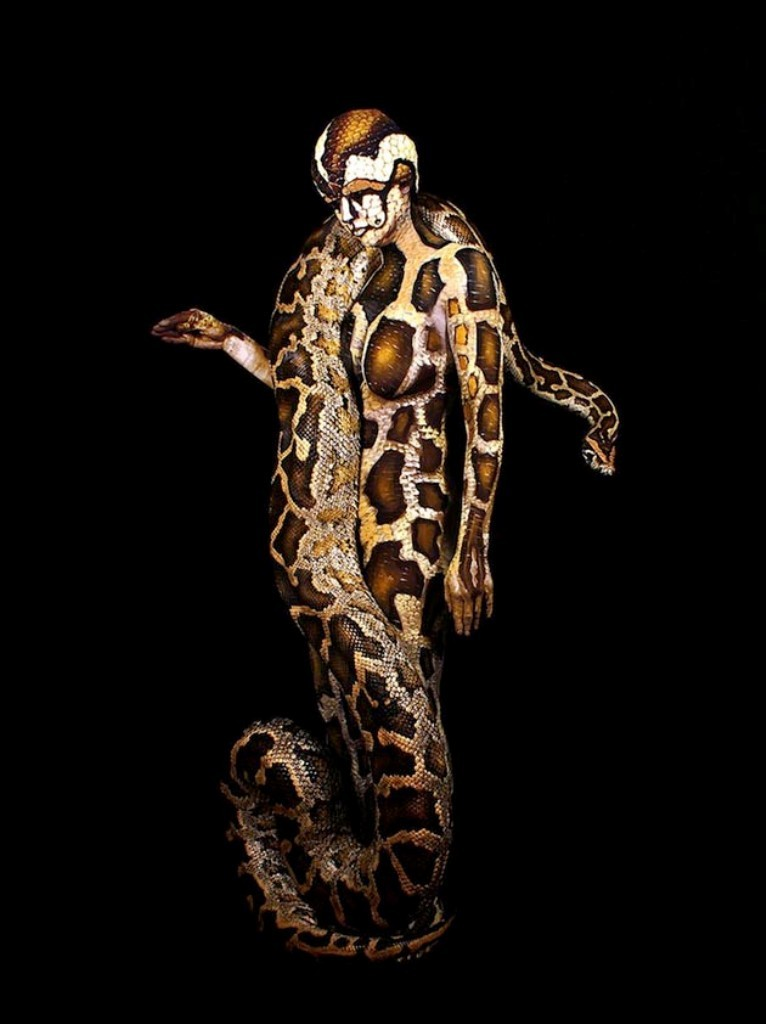 3D-Body-Paintings-12 58 Most Marvelous 3D Body Paintings
