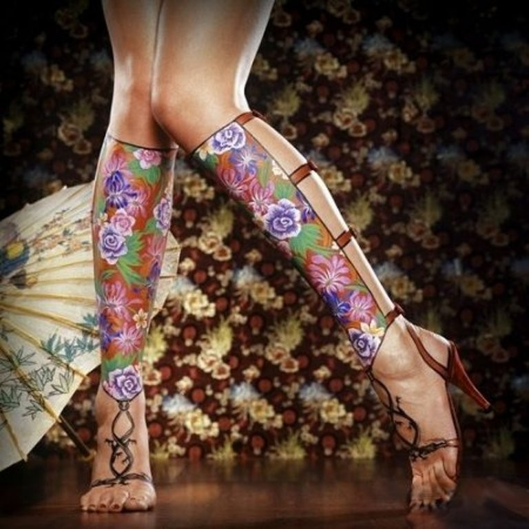 3D-Body-Paintings-13 58 Most Marvelous 3D Body Paintings