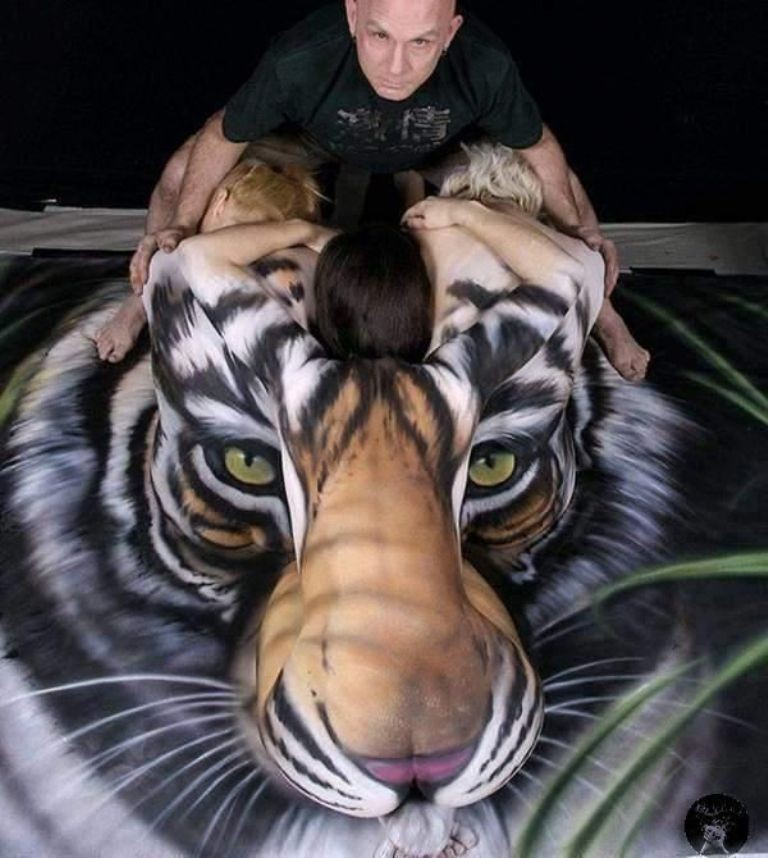 3D-Body-Paintings-17 58 Most Marvelous 3D Body Paintings