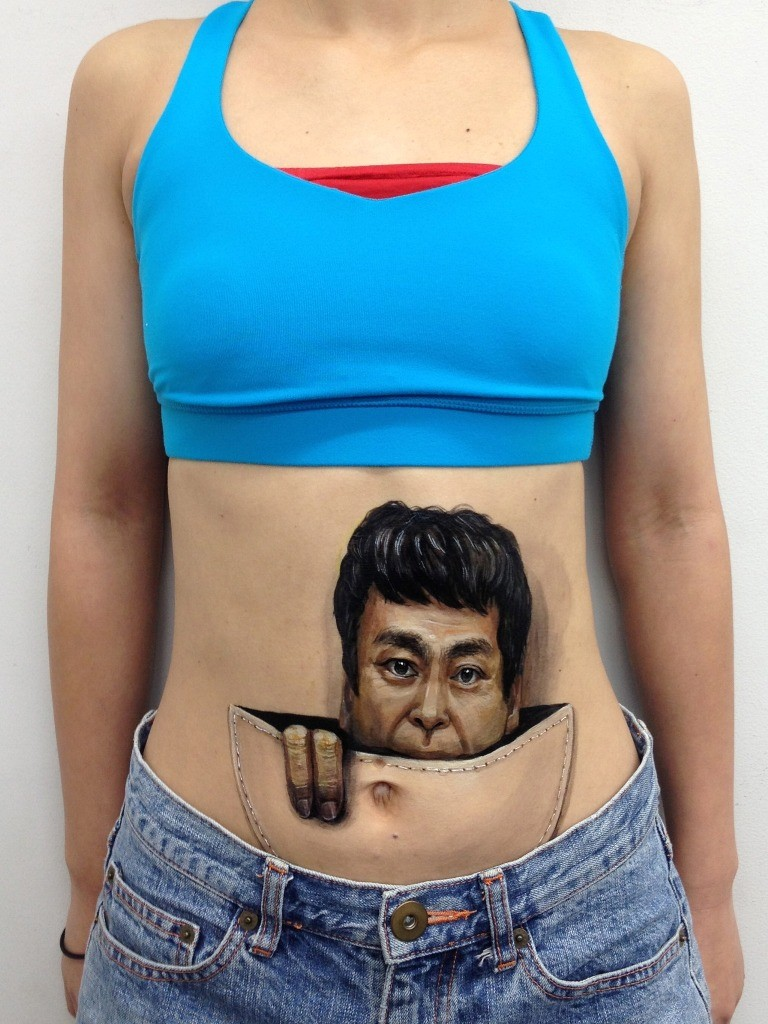 3D-Body-Paintings-21 58 Most Marvelous 3D Body Paintings