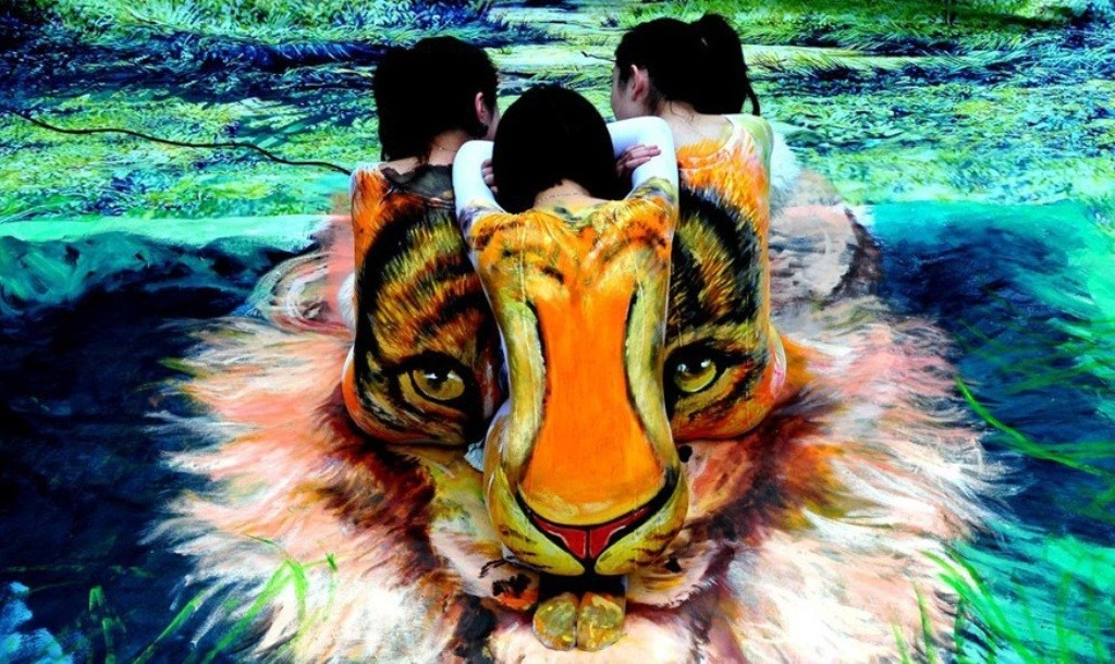 3D-Body-Paintings-26 58 Most Marvelous 3D Body Paintings