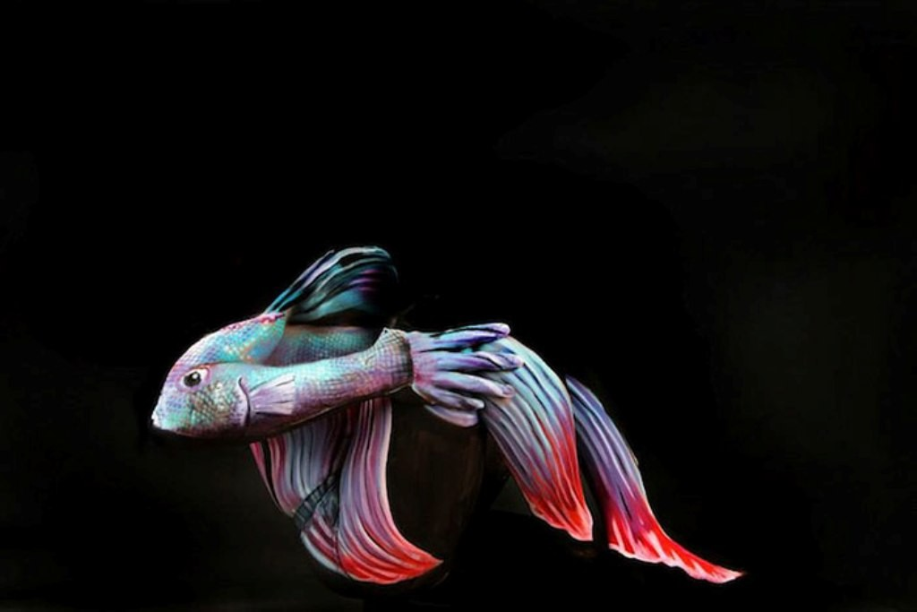 3D-Body-Paintings-29 58 Most Marvelous 3D Body Paintings