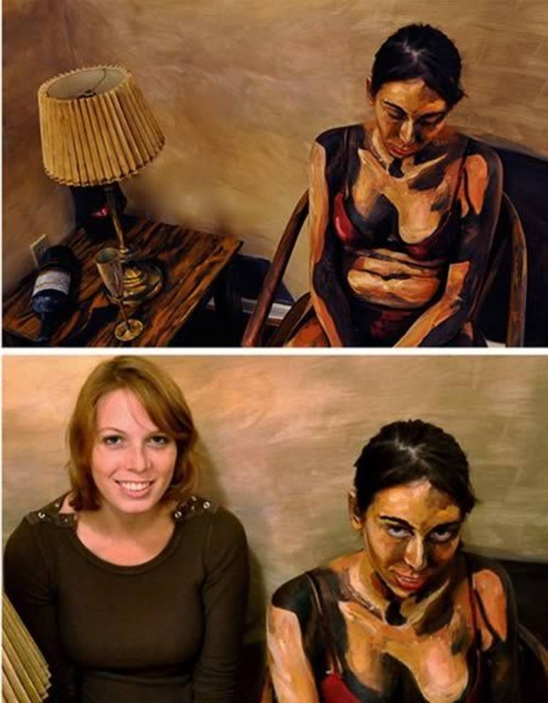 3D-Body-Paintings-35 58 Most Marvelous 3D Body Paintings