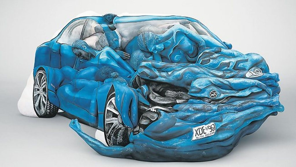 3D-Body-Paintings-45 58 Most Marvelous 3D Body Paintings