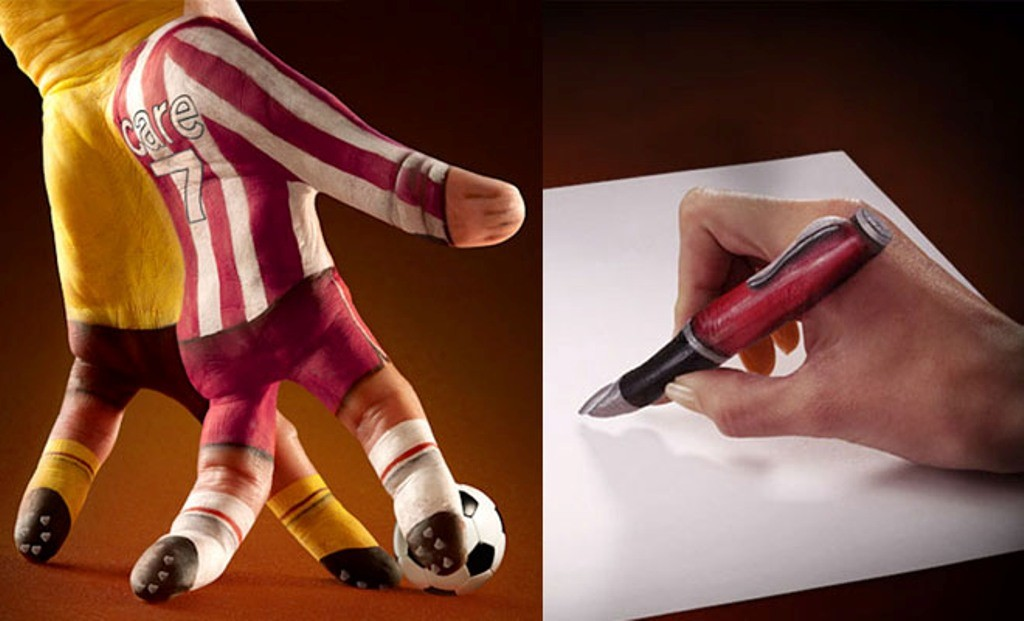 3D-Body-Paintings-46 58 Most Marvelous 3D Body Paintings