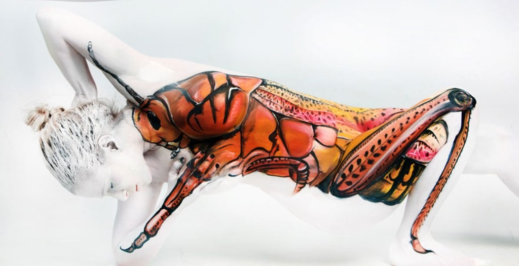 3D-Body-Paintings-5 58 Most Marvelous 3D Body Paintings