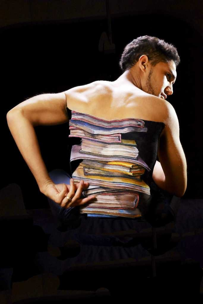 3D-Body-Paintings-50 58 Most Marvelous 3D Body Paintings